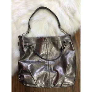 Leather Coach Brooke Hobo Bag